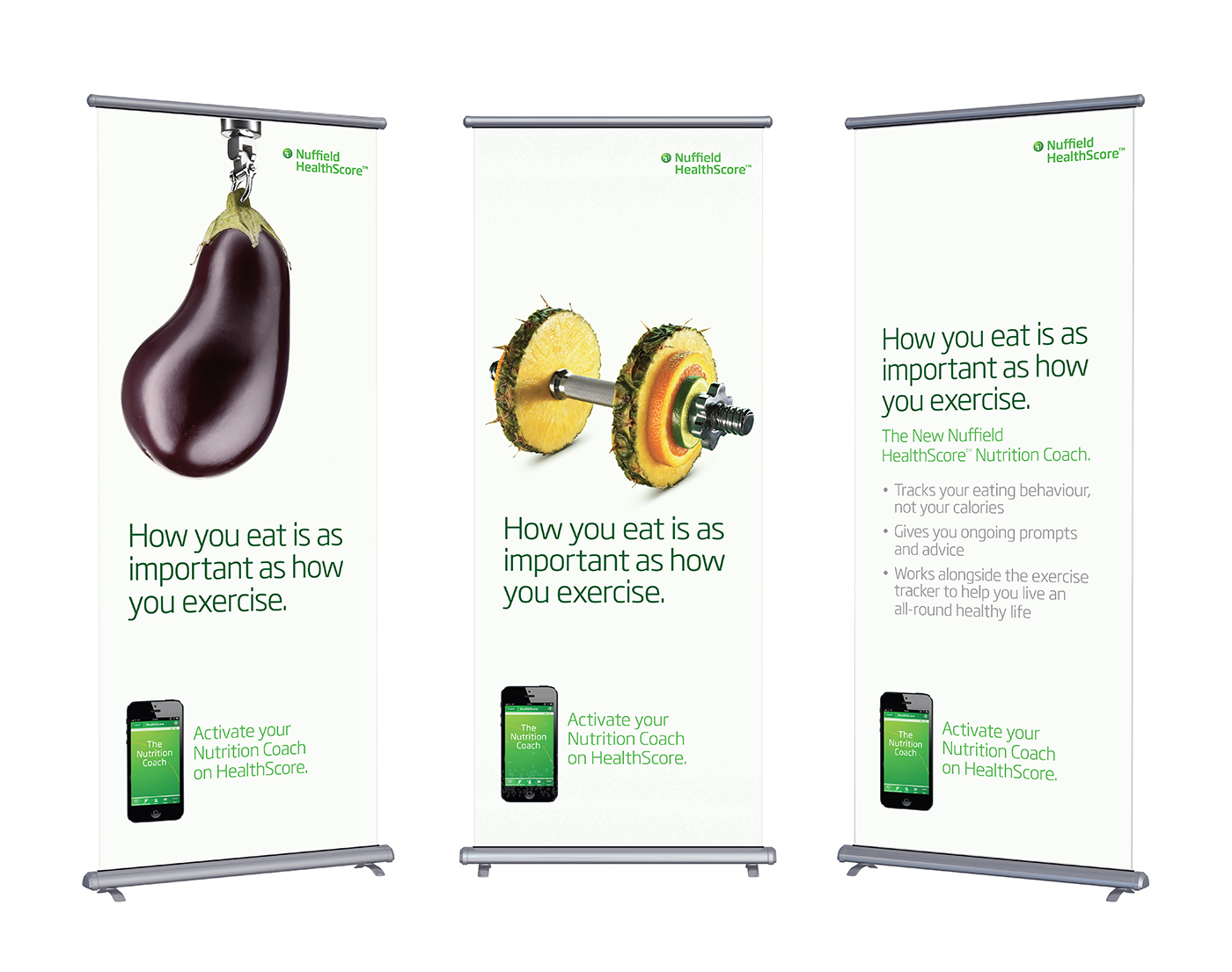 Blank roll-up banner display, isolated with clipping path; Shutterstock ID 207842884